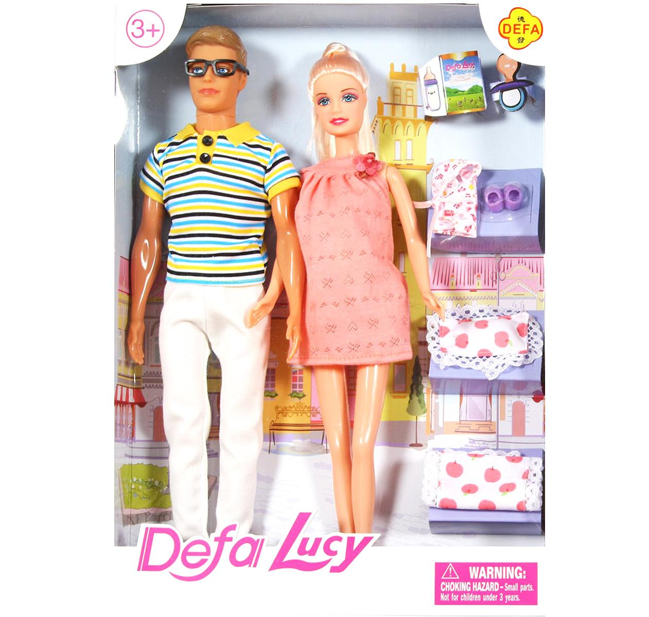 Лялька Defa вагітна з Кеном. Ціна dc2daf550c658