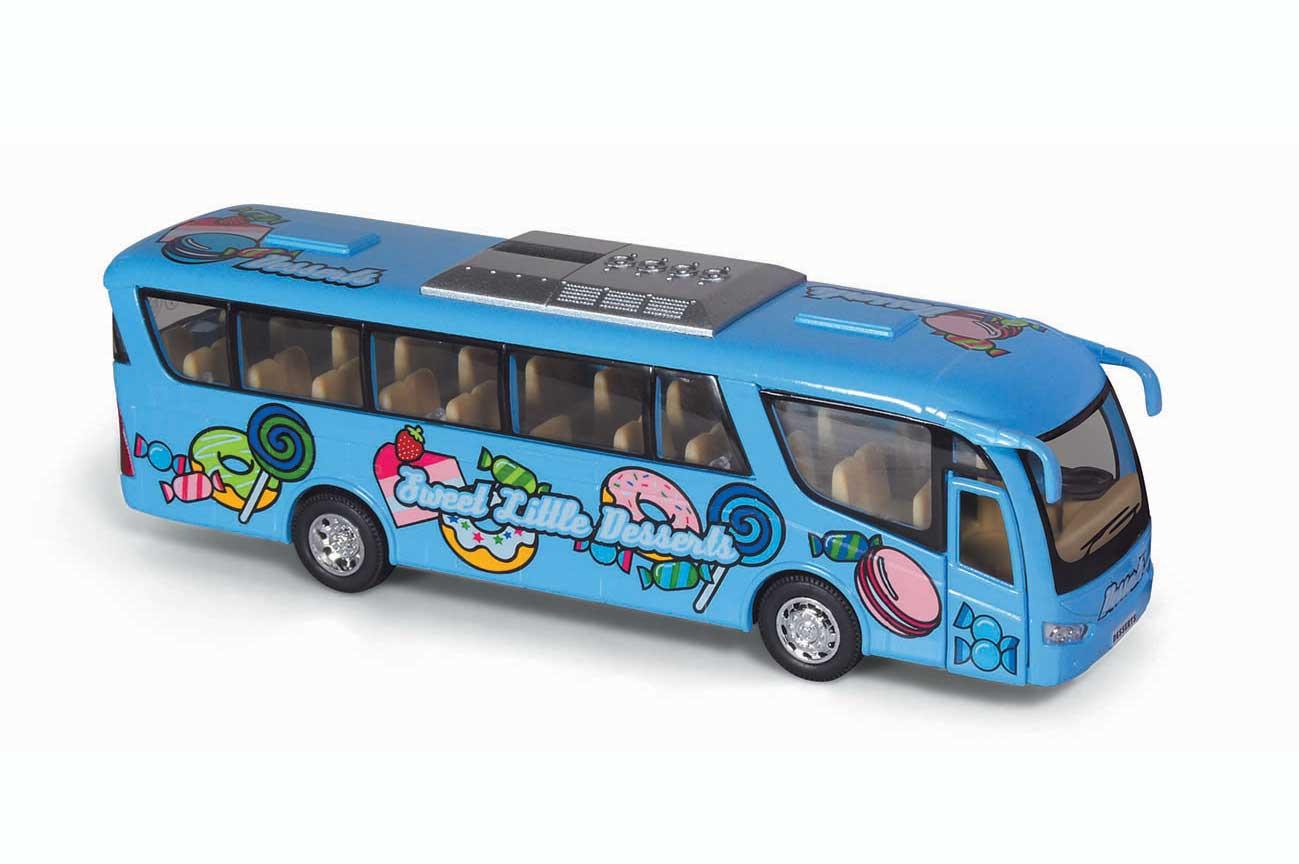"""Автобус металлический серии """"Kinsfun"""" """"Dessert Bus"""". Цена ..."""