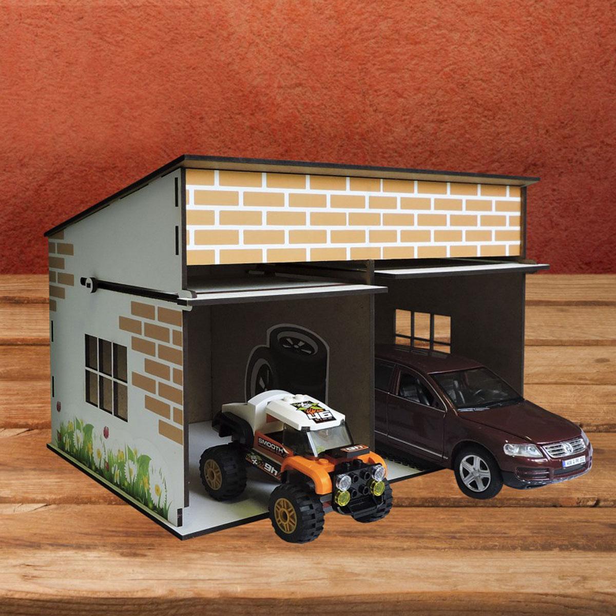 Как сделать игрушечный гараж