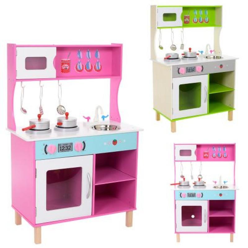 77fd3dd4d84e Детская кухня из дерева с посудой. Цена, купить Детская кухня из ...