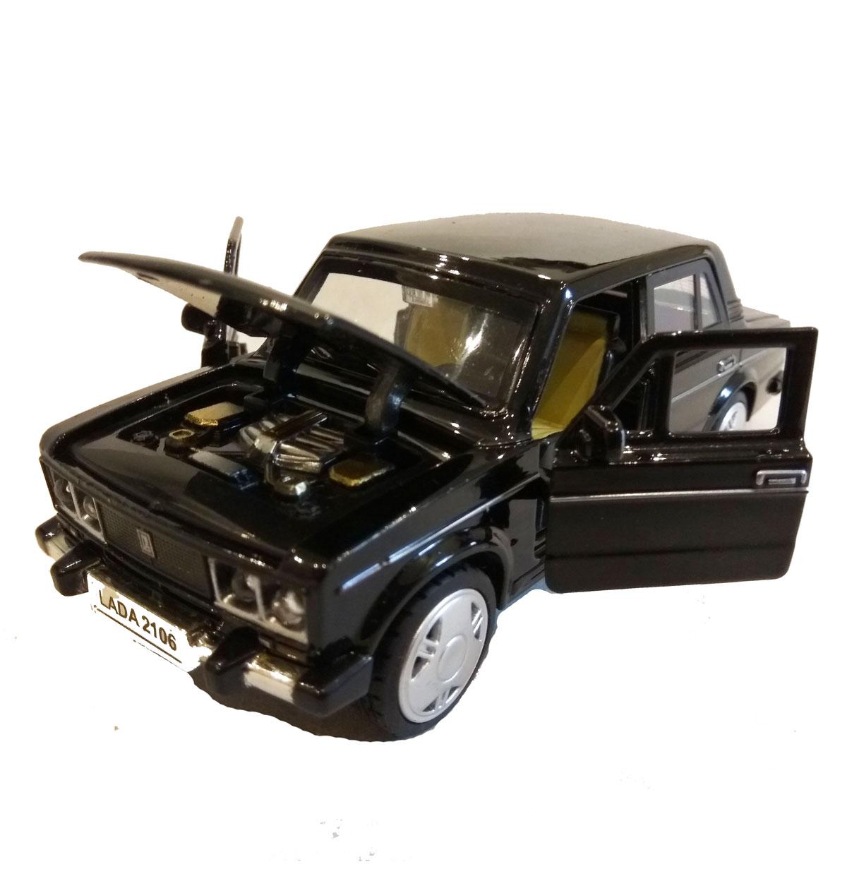 Металлическая модель жигулей на батарейках ВАЗ 2106. Цена ...