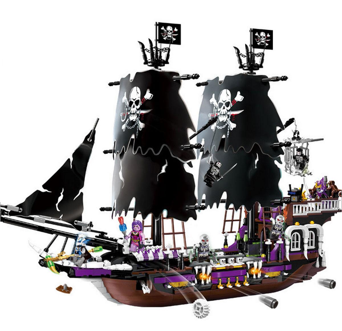 Конструктор brick пиратский корабль купить