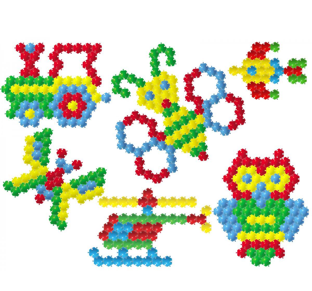 Тапочки из шестиугольных мотивов - Вязание спицами, вязание