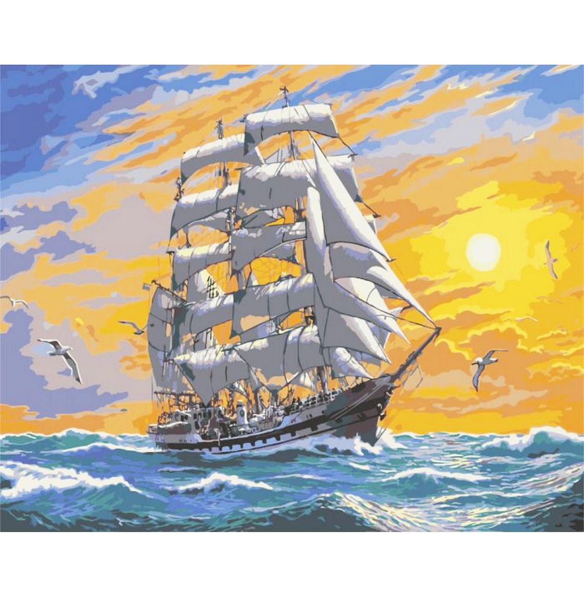 """Раскраска по номерам """"Хозяин морей"""". Цена, купить ..."""