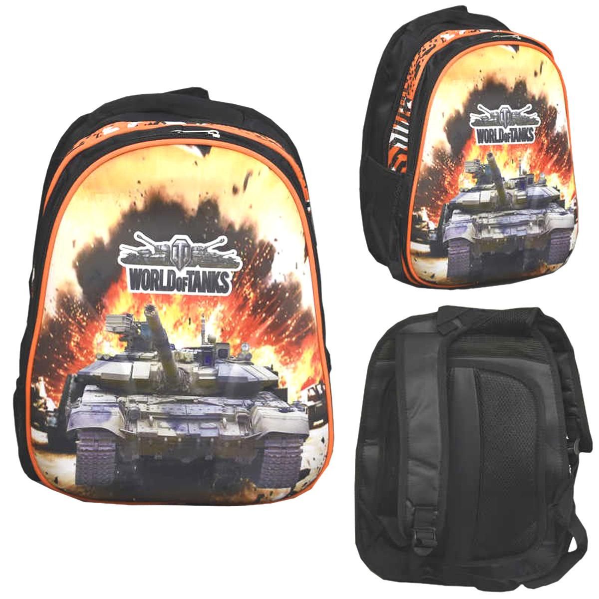 9927cea2da9c Рюкзак школьный World of Tanks. Цена, купить Рюкзак школьный World ...