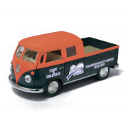 Машинка Kinsmart 1963 Volkswagen Bus Double Cab Pickup (Delivery)