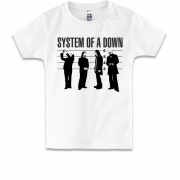 Дитяча футболка  System of a Down