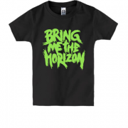 Дитяча футболка Bring me the horizon green