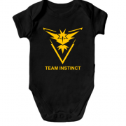 Дитячий боді Pokemon Go Team Instinct