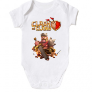 Дитячий боді Clash of Clans Barbarian King