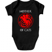 Детское боди Mother Of Cats  - Game of Thrones