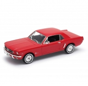 Машина металлическая Welly FORD MUSTANG COUPE 1964