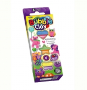 "Набор пластилина ""BUBBLE CLAY"" 6 цветов"