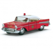 "Пожежна машинка Kinsmart ""Chevrolet Corvette Fire Chief 1957"""
