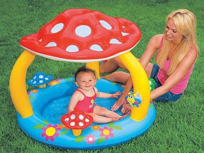 Как выбрать  надувной бассейн для ребенка.  Правила выбора.