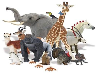 Игрушечные животные – неотъемлемое снаряжение сюжетных забав