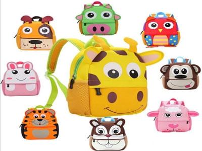 Первый рюкзак малыша
