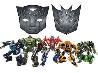 Современные игрушки: роботы, трансформеры и монстры