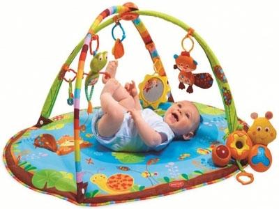 Как выбрать игровой развивающий коврик для детей.
