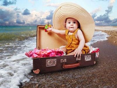 Отпуск с крошкой до годика – необходимый багаж