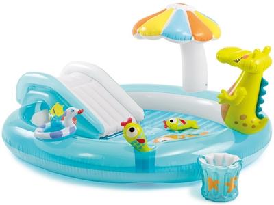 Надувные бассейны – отличный способ привить ребенку любовь к водным процедурам